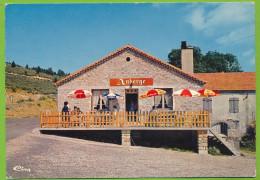 BORNE - L'Auberge Du Col Du Bez Tél. N° 4 à MASMEJEAN Carte Circulé 1973 - France