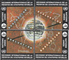 UN - Geneva 250-253 (complete Issue) Unmounted Mint / Never Hinged 1994 Natural Disasters-Conference - Geneva - United Nations Office