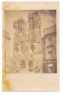 F 51100 REIMS, Notre-Dame, Photo-AK, 1917 - Reims
