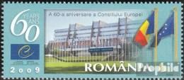 Roumanie 6359 (complète.Edition.) Neuf Avec Gomme Originale 2009 60Jahre Conseil De L'europe - 1948-.... Républiques