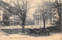 GENEVE  PLACE DU BOURG DE FOUR  ATTELAGES - GE Genève