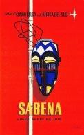 Sabena: Congo Belga  Et Africa Del Sud - Baggage Etiketten