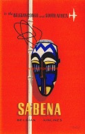 Sabena: Belgian Congo And South Africa - Baggage Etiketten