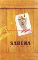 Sabena: Export-Import - Baggage Etiketten