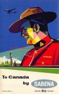 To Canada By Sabena - Baggage Etiketten