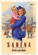 Mit Sabena Sind Sie In Guten Handen - Baggage Etiketten