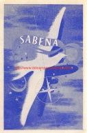 Sabena Belgian Airlines - Baggage Etiketten