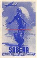 Sabena Belgique-Congo - Afrique Du Sud - Baggage Etiketten