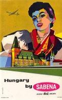 Hungary By Sabena - Baggage Etiketten