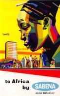 To Africa By Sabena - Baggage Etiketten