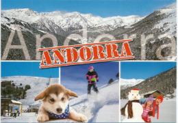 L'Andorre L'Hiver, Carte Postale Neuve, Non Circulée. - Andorre