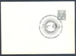 Austria Österreich 1965: Space Weltraum Espace: Year Of Tje Quiet Sun; Jahr Of The Ruhigen Sonne; Satellite - Espace
