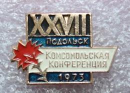 XVII конфЕренция комсо&# - Pin's