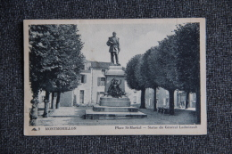 MONTMORILLON - Place ST MARTIAL, Statue Du Général LADMIRAULT - France