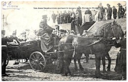 RUSSIE . 1902 . RENCONTRE  Pr LOUBET- TSAR NICOLAS II .REVUE De KRASNOË SELO . - Russie