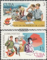Kuba 1458-1459 (completa Edizione) MNH 1969 Ragazzo Pionieri - Kuba