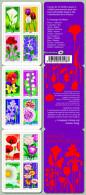 2012 - CARNET AUTOADHESIF - Flore - Dites-le Avec Des Fleurs - Fleur Et Le Sentiment Associé - N° YT : 662 à 673 - Carnets