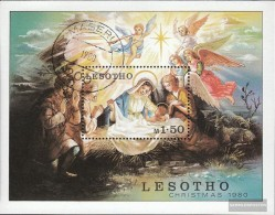 Lesotho Block7 (kompl.Ausg.) Gestempelt 1980 Weihnachten - Lesotho (1966-...)