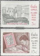 Kuba 1165-1166 (completa Edizione) MNH 1966 Giorno Il Timbro - Kuba