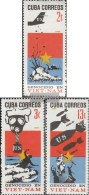 Kuba 1233-1235 (completa Edizione) MNH 1966 Guerra In Vietnam - Nuevos