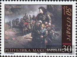 Makedonien 121 (complete Issue) Unmounted Mint / Never Hinged 1998 Paintings - Macedonia