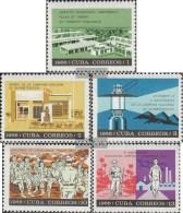Kuba 1181-1185 (completa Edizione) MNH 1966 Istruzione E Istruzione - Kuba