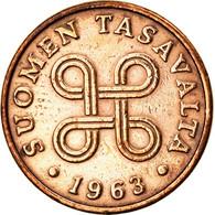 Monnaie, Finlande, Penni, 1963, SUP, Cuivre, KM:44 - Finnland