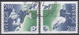 Suecia 1992 Nº 1697/98 Usado - Sweden