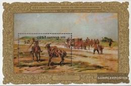 Kuba Block 39 (completa Edizione) MNH 1972 M. De  Saavedra - Kuba
