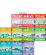 Hong Kong 789b-801b (complete Issue) Unmounted Mint / Never Hinged 1997 Clear Brands: Skyline - Unclassified