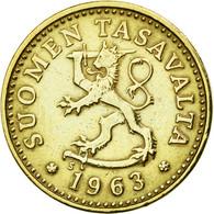 Finlande, 10 Pennia, 1963, SUP, Aluminum-Bronze, KM:46 - Finlande