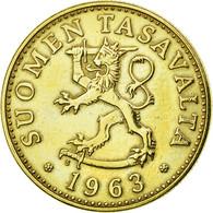 Finlande, 50 Penniä, 1963, SUP, Aluminum-Bronze, KM:48 - Finlande
