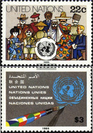 UN - New York 468-469 (complete Issue) Unmounted Mint / Never Hinged 1985 Clear Brands - New York – UN Headquarters