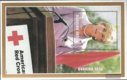 Burkina Faso Block175 (complete.issue.) Unmounted Mint / Never Hinged 1998 1. Death Princess Diana - Burkina Faso (1984-...)