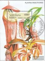 Laos Block155 (complete Issue) Fine Used / Cancelled 1995 Fleischfressende Plants - Laos