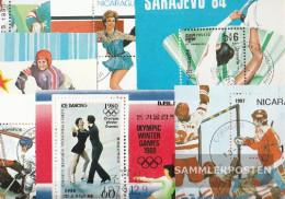 Motives 10 Different Skating Sport Pads - Stamps