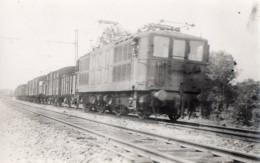 CPA 1943 - Carte Photo - Locomotive électrique - Photo L.HERMANN - Eisenbahnen