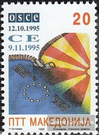 Makedonien 61 (complete Issue) Unmounted Mint / Never Hinged 1995 OSZE - Macedonia