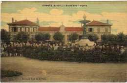 Ermont Ecole Des Garcons En 1918 - Ermont