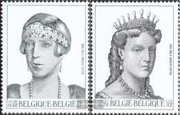 Belgium 3019-3020 (complete Issue) Unmounted Mint / Never Hinged 2001 Königshaus - Belgium