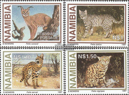Namibia - Southwest 845-848 (complete Issue) Unmounted Mint / Never Hinged 1997 Small Predators - Namibia (1990- ...)