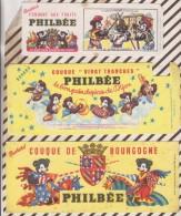 522 BUVARD PAIN D'EPICE DE DIJON PHILBEE Lot De 10 Buvards - Gingerbread