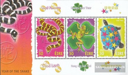 Ireland Block37 (complete Issue) Unmounted Mint / Never Hinged 2001 Year - Blocks & Sheetlets
