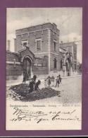 Dendermonde Termonde Gevang Maisoon D´arret,prison,travaux ,ouvriers,carte A Circule,petit Accroc à Droite Coin De Tour - Dendermonde