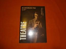 Théâtre - L´avant Scène N°497 - Ne M'oubliez Pas, Peter Nichols, Claude Roy (Raphaël.. Fais Tourner Le Monde, J. Jaquine - Autres