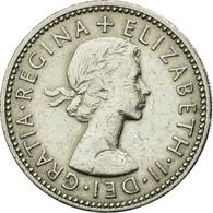 Monnaie, Grande-Bretagne, Elizabeth II, Shilling, 1960, TTB, Copper-nickel - I. 1 Shilling