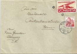 Brief  Chevenez - Bern          1947 - Suisse