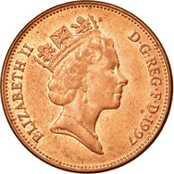 Monnaie, Grande-Bretagne, Elizabeth II, 2 Pence, 1997, TTB+, Copper Plated - 1971-… : Decimal Coins