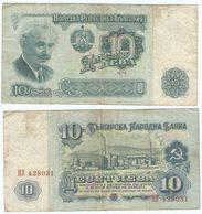 Bulgaria 10 Leva 1974 Pk-96-a Ref 264-2 - Bulgaria