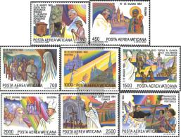 Vatikanstadt 899-906 (complete Issue) Unmounted Mint / Never Hinged 1986 Pope Travels - Vatican